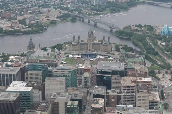 Ottawa on Canada Day