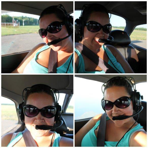 In a Cessna