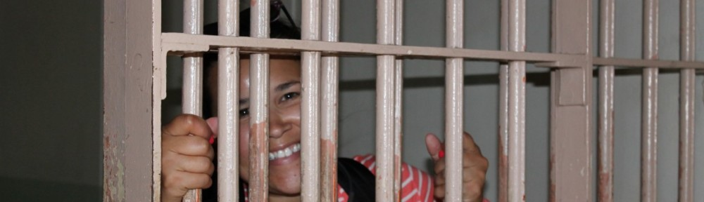 Smiling on Alcatraz