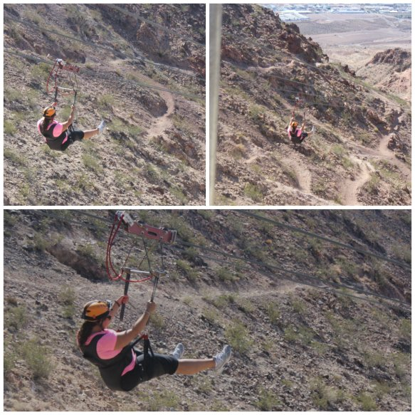 Soaring over Bootleg Canyon