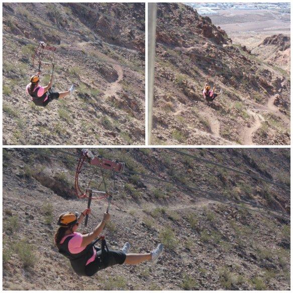 Soaring over Bootleg Canyon