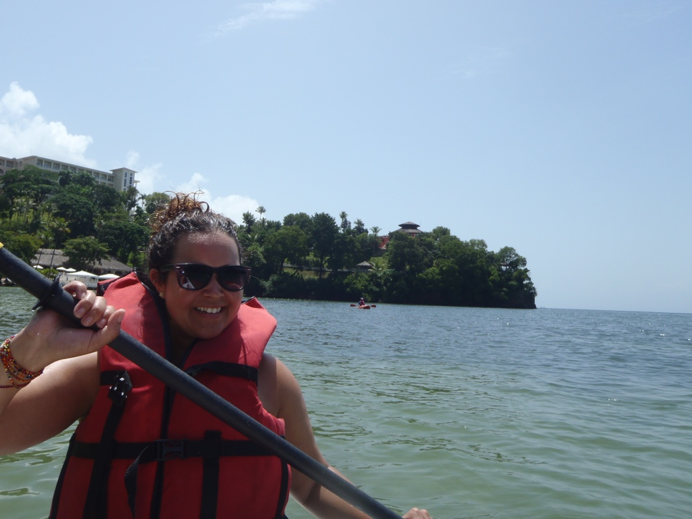 Kayaking in the Dominican