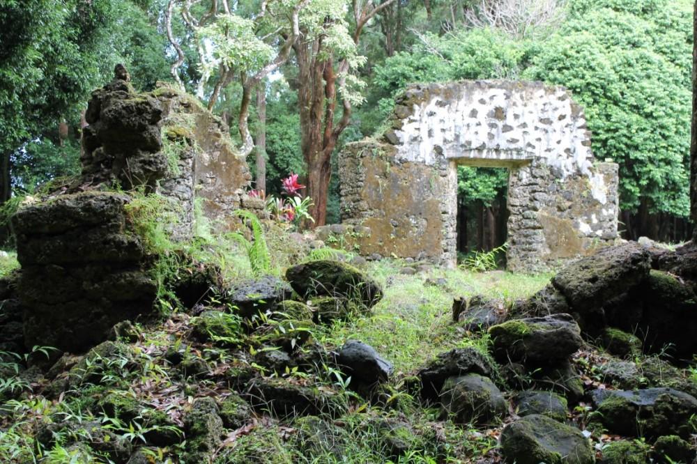 Hawaiian Ancient Ruins