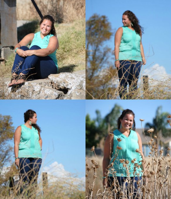 Turquoise Compass Photo Shoot