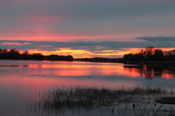 Sunset in New Brunswick