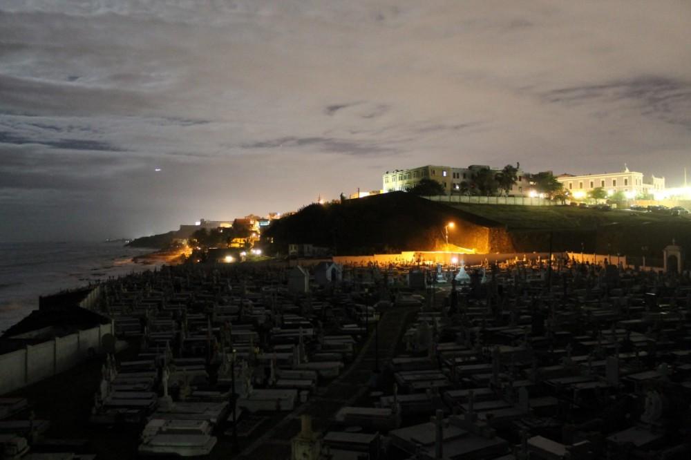 Old San Juan at Night