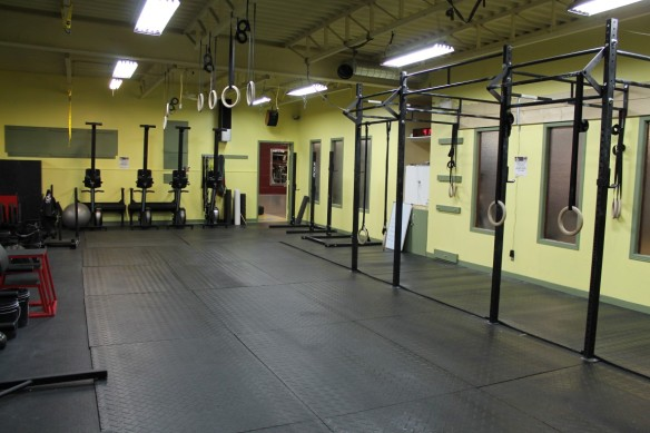 The Crossfit Box at DF and CFT