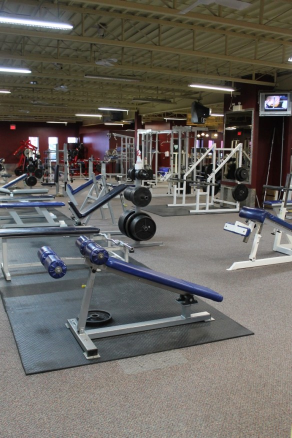 Main exercise area at DF and CFT