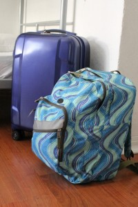 Traveling with a carry on