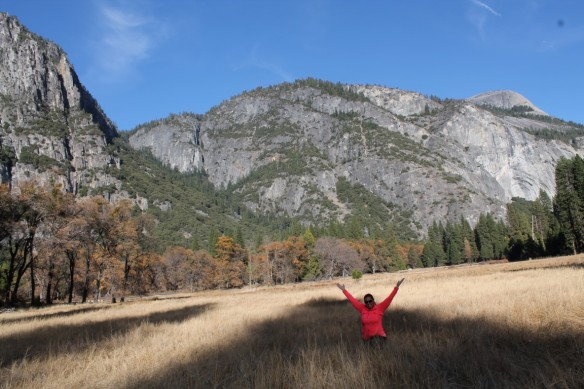 Hiking in Yosemite National Park