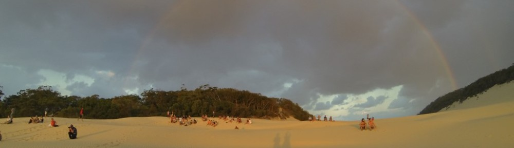 Rainbow Beach Sand Blow