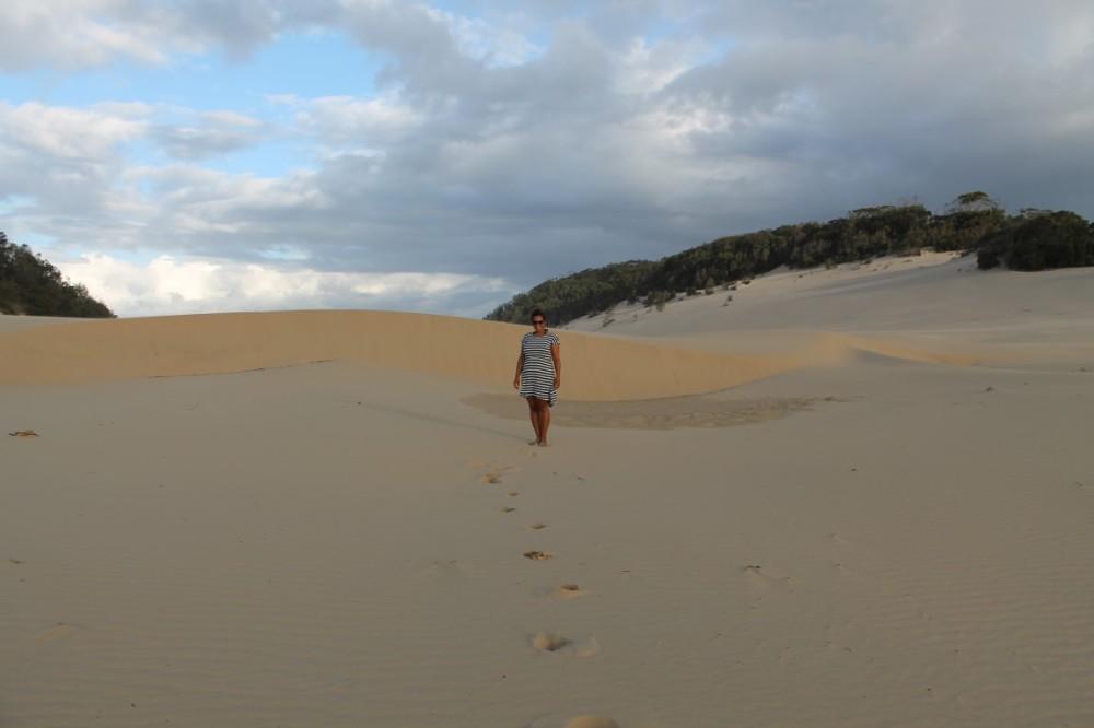 Rainbow Beach Sand Blow