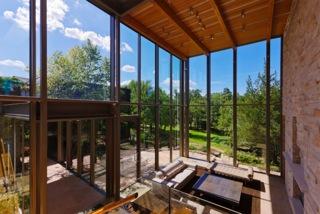 Cottage huge windows