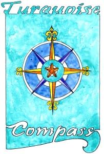 Turquoise Compass Logo