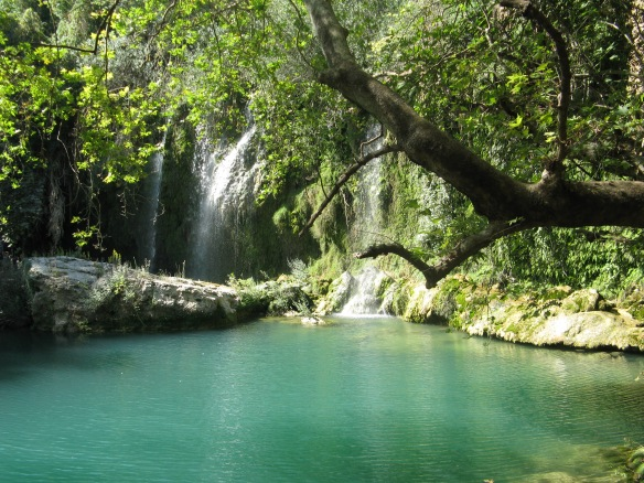 The Kursunlu falls at Antalya