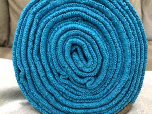 Zeroslip yoga towel