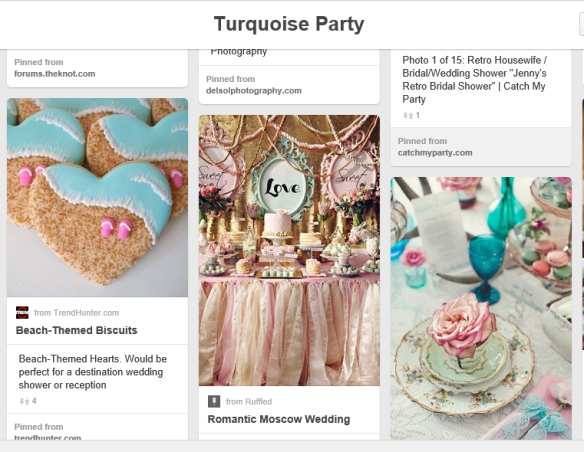 Turquoise Compass Pinterest