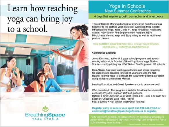 Yoga in Schools