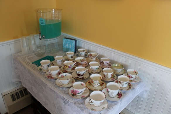 Turquoise Compass Wedding Shower