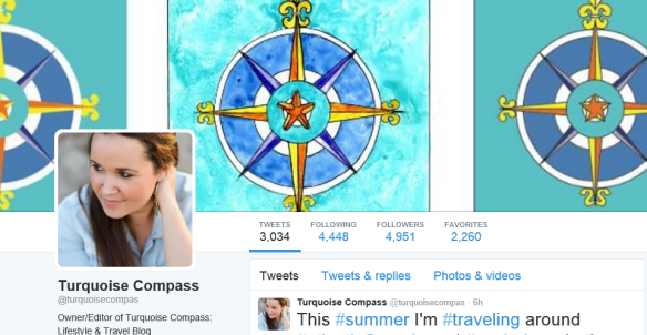 Turquoise Compass