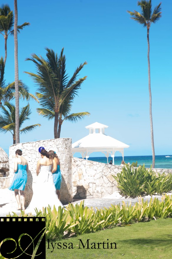 Turquoise Compass Wedding, Dominican Republic